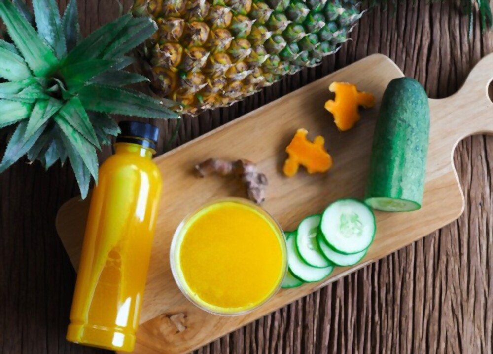 Pineapple And Cucumber Squeeze Your Kidneys – Benefits Of Pineapple