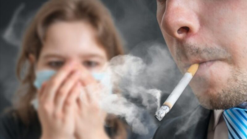 NEVER SMELL THIS-The Consequences of Smoking and Smelling Another's Cigar-DON'T BE A PASSIVE SMOKER